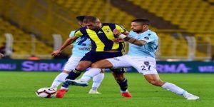 Spor Toto Süper Lig: Fenerbahçe: 0 - Medipol Başakşehir: 0 (Maç sonucu)