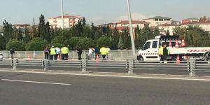 Osmangazi Köprüsü'nde OSB protestosu
