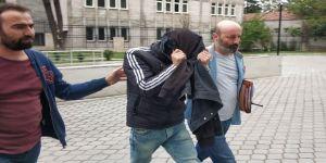 Hırsızlık yaptığı iş yerlerinin kamera kayıt cihazını da çalan şahıs tutuklandı