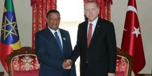 Erdoğan, Wirtu ile bir araya geldi