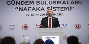 Adalet Bakanı Gül'den nafaka sistemine ilişkin açıklama