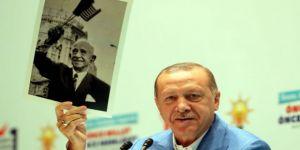 Erdoğan'dan İnönü fotoğrafı açıklaması