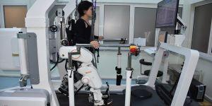 Felçli hastalara 'robot'lu destek