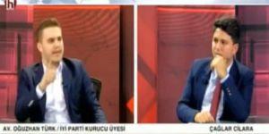 Canlı yayında İYİ Parti'den istifa edip MHP'ye geçti!