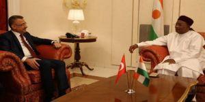 Oktay, Nijer Cumhurbaşkanı ile görüştü