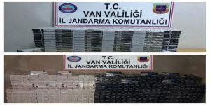 25 bin 150 paket kaçak sigara ele geçirildi