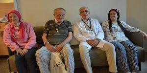 Baba ve kızları organ nakliyle hayata tutundu