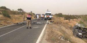 Karayolu savaş alanına döndü: 2 ölü, 5 yaralı