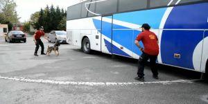 Şehirler arası yolcu otobüsünün tabanından eroin fışkırdı