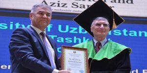 Aziz Sancar'a Özbekistan'da fahri doktora