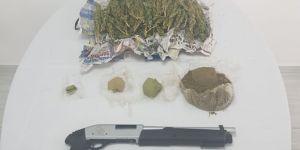 2 kardeş uyuşturucu ile yakalandı