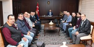 Gebze Artvinliler dernek yönetiminden Vali Aksoy'a ziyaret