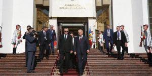 Erdoğan, Cumhurbaşkanlığı Binası'nın açılış törenine katıldı