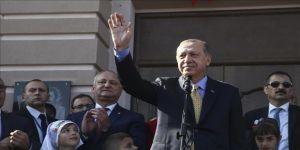 Erdoğan: Gökoğuz Türklerinin kara gün dostu olmayı sürdüreceğiz