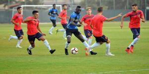 Alanyaspor, Antalyaspor maçı hazırlıklarını sürdürdü