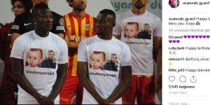 Ünlü futbolcu, en küçük şehidin doğum gününü kutladı