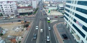Gebze Issıkgöl Caddesi yenilendi