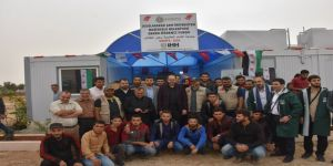 Savaş mağduru Suriyelilere Kocaeli'den yardım