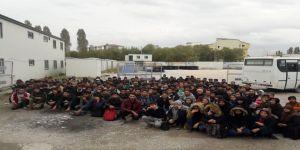 167 yabancı uyruklu kaçak şahıs yakalandı
