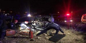 Astsubay kazada öldü