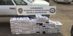 Bin 860 paket kaçak sigara ele geçirildi