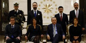 Erdoğan, Hollanda Büyükelçisini kabul etti