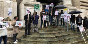 İsviçre'de Kaşıkçı cinayeti protesto edildi