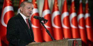 Erdoğan'dan 29 Ekim resepsiyonu