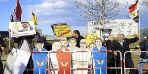 Sisi protesto edildi
