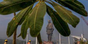 Dünyanın en uzun heykellerinden birinin açılışı yapıldı