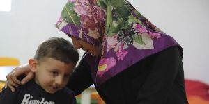 Onkoloji hastalarının çocukları için 'şefkat evi'