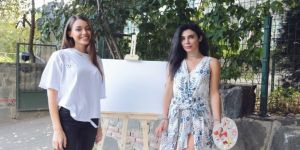 Ressam Berfin Uluman ile birçok ünlüyü buluşturan proje