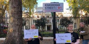 Af Örgütü'nde 'Kaşıkçı Sokağı' protestosu