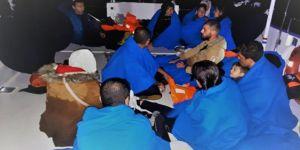 Bin 12 düzensiz göçmen yakalandı