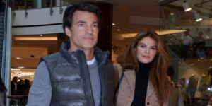 Tülin Şahin sevgilisi Pedro De Noronha ile el ele