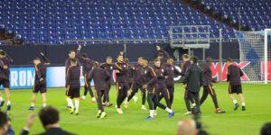 Galatasaray, Schalke 04 maçı hazırlıklarını tamamladı