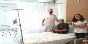 7 yıllık sıkıntısından Babaeski Devlet Hastanesinde kurtuldu