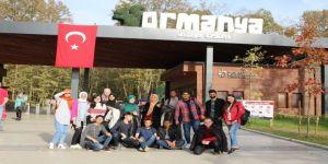 Yabancı öğrenciler Kocaeli'ni gezdi