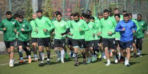 Konyaspor'da Ankaragücü maçı hazırlığı