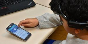 Disleksik çocukların eğitimini destekleyen uygulama