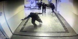 Öğretmene silahlı saldırı anı kamerada