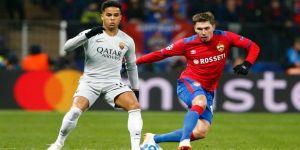 Roma deplasmanda CSKA Moskova'yı yendi