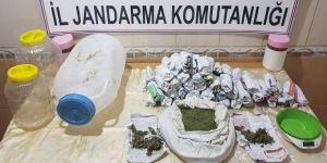 1 kilo 800 gram uyuşturucu ele geçirildi