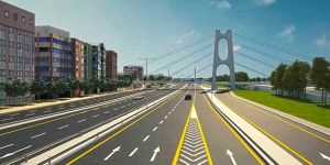 Gebze'ye yaya köprüsü inşa ediliyor
