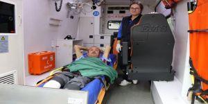 Kocaeli'nde hasta nakil araçları kolaylık sağlıyor