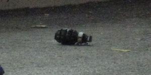 Patlamamış el bombası bulundu