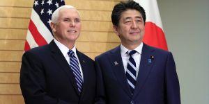 Abe ve Pence Tokyo'da görüştü