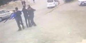 Sokak ortasında pompalı tüfekli kız kavgası!