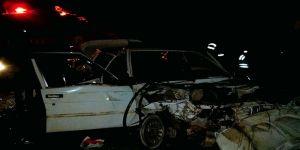 Trafik kazası: 3'ü ağır 4 yaralı