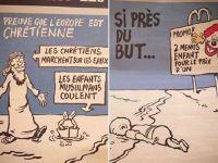 Charlie Hebdo'nun Aylan karikatürü tepki topladı!